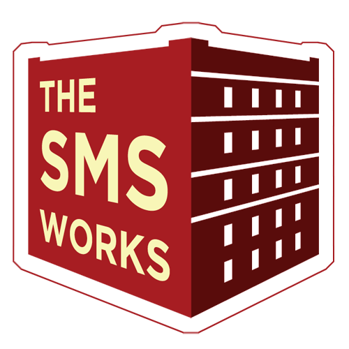 The SMS Works logo